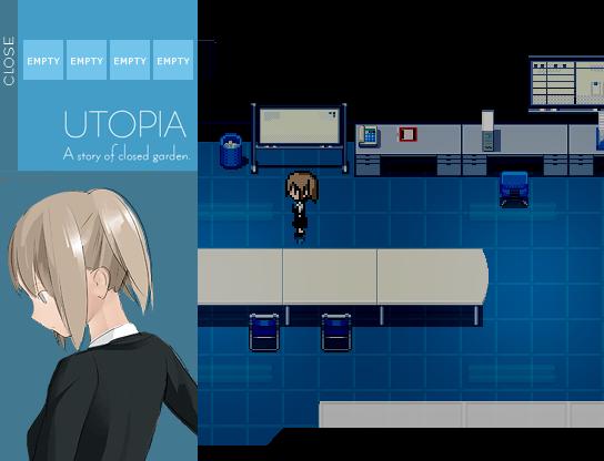 UTOPIA 無料ホラーゲーム アドベンチャー