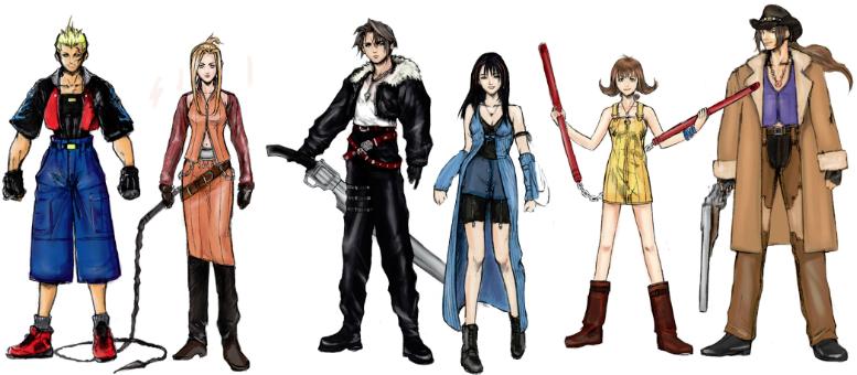 ファイナルファンタジー8 キャラクター