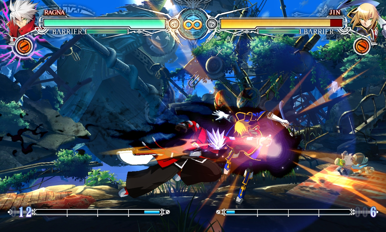 BLAZBLUE CENTRALFICTION 1
