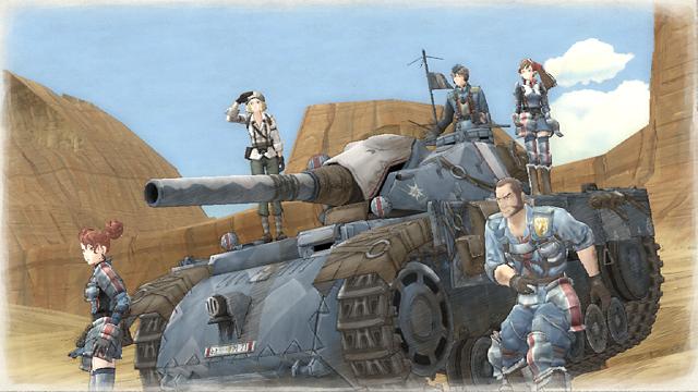 戦場のヴァルキュリアリマスター 4