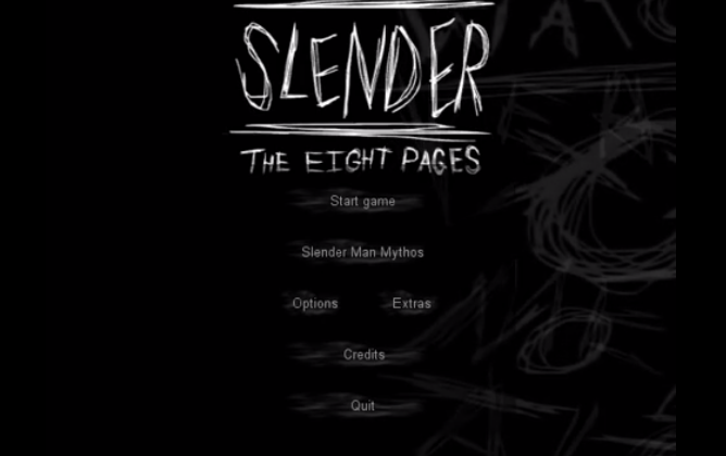 Slender:The Eight Pages ホラーゲーム