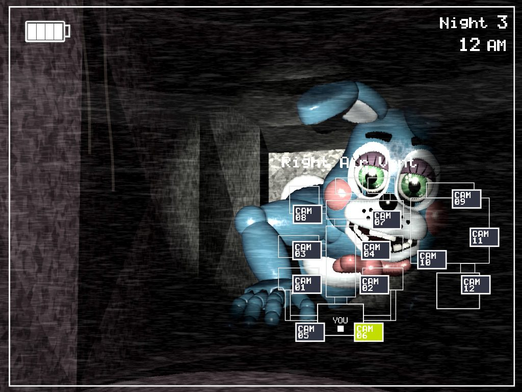 Five Night at Freddy's ホラーゲーム
