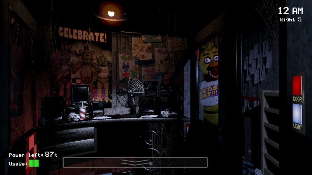 Five Night at Freddy's ホラーゲーム