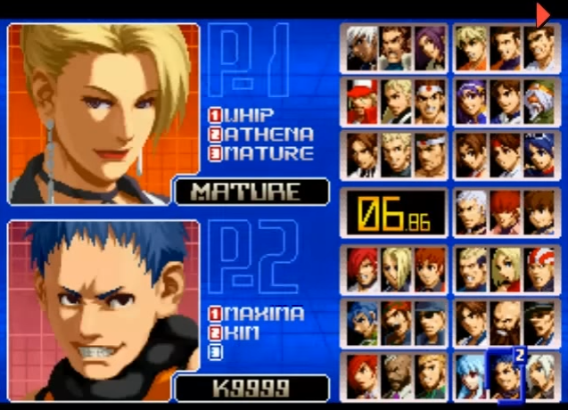 THE KING OF FIGHTERS '2002(ザ・キング・オブ・ファイターズ)
