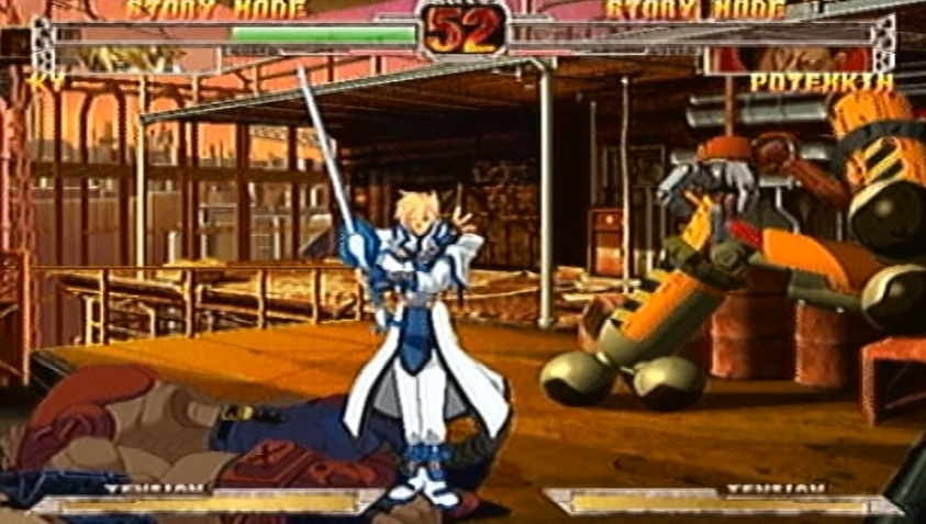 GUILTY GEAR X PLUS(ギルティギア)