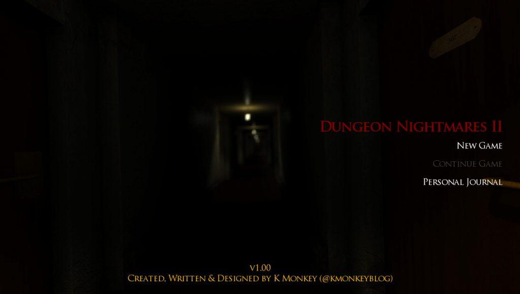 Dungeon Nightmares II:The Memory