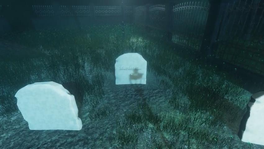 Ponte Cemetery ホラーゲーム
